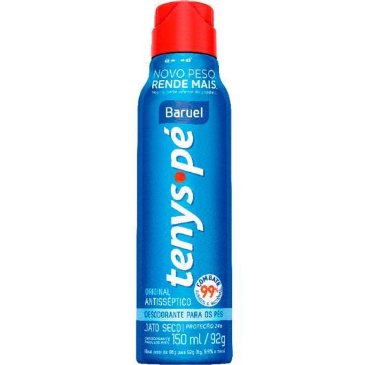 Desodorante Tenys Pé jato seco original 92g - Imagem em destaque