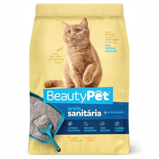 Areia Sanitária Beautypet Para Gatos 4kg - Imagem em destaque