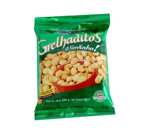 Amendoim Santa Helena grelhado sem pele 200g - Imagem em destaque