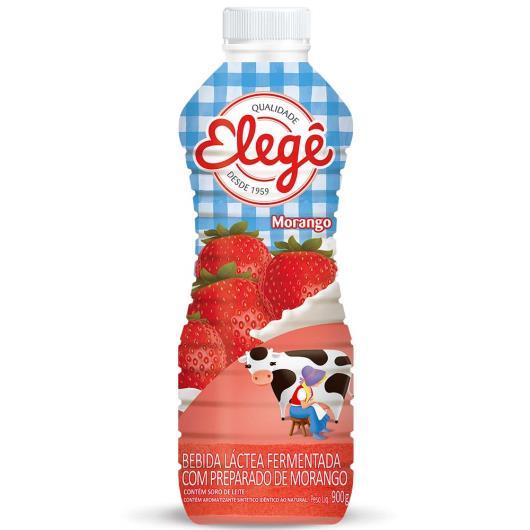 Bebida Láctea Elegê Polpa Morango 900g - Imagem em destaque