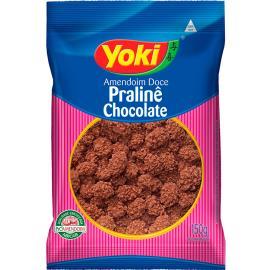 Amendoim Yoki doce pralinê chocolate 150g