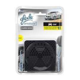 Odorizador Glade Sensations Car Carro Novo Aparelho+Refil 8g