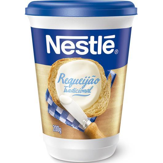 Requeijão Nestlé cremoso tradicional 200g - Imagem em destaque