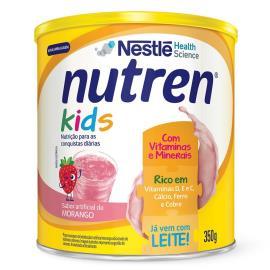Nestlé NUTREN KIDS Morango Complemento Alimentar Lata 350g