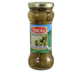 Azeitona Raiola Verde recheada com cebola 120g