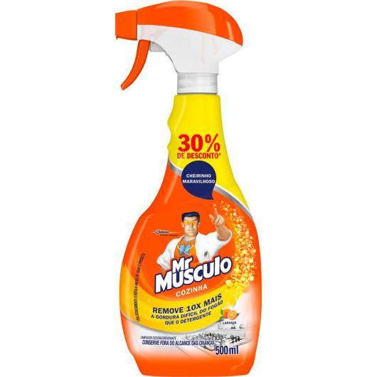 Desengordurante Mr Músculo Cozinha Laranja 500 ml com 30% de Desconto - Imagem em destaque