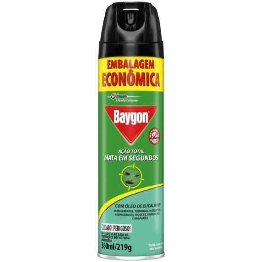 Inseticida Baygon Ação Total Eucalipto 360ml - Imagem em destaque