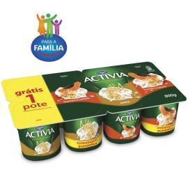 Leite fermentado  Activia mamão/aveia Leve8 Pague 6 800g