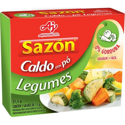 Caldo em pó Sazón Legumes 37,5g - Imagem em destaque