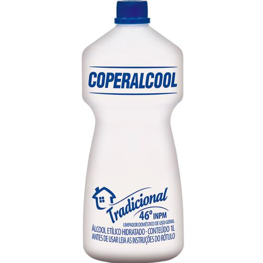 Álcool Coperalcool Tradicional 46° 1L - Imagem em destaque
