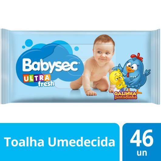 TOALHA UMEDECIDA BABYSEC GALINHA PINTADINHA ULTRAFRESH 46 UNIDS - Imagem em destaque