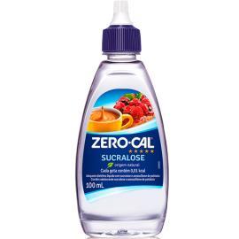 Adoçante Zero Cal Sucralose líquido 100ml