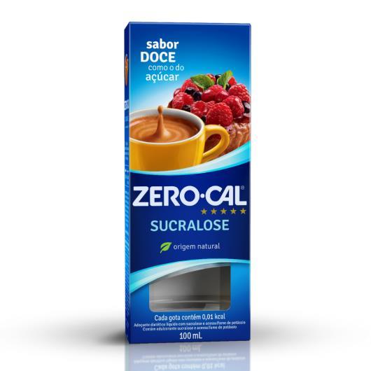 Zero-Cal Sucralose Adoçante Líquido 100ml - Imagem em destaque