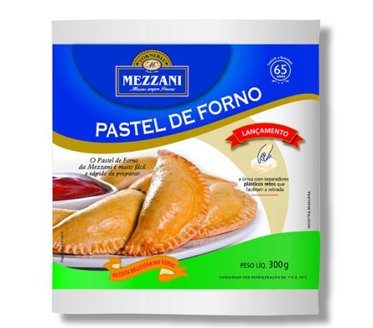 Massa para pastel de forno Mezzani 300g - Imagem em destaque