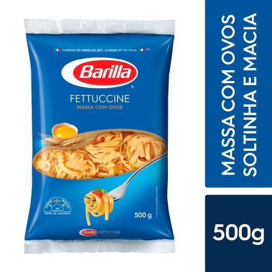Massa com Ovos Fettuccine Barilla 500g - Imagem em destaque