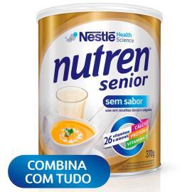 Nestlé NUTREN SENIOR Suplemento Alimentar Lata 370g