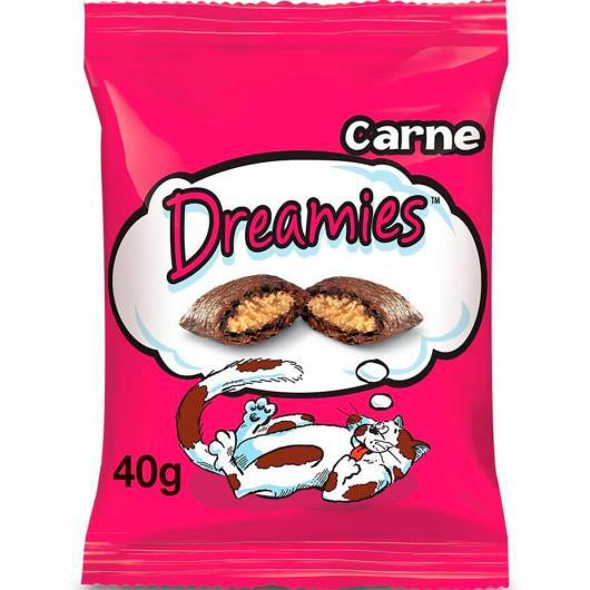 Petisco para gatos Dreamies sabor carne 40g - Imagem em destaque