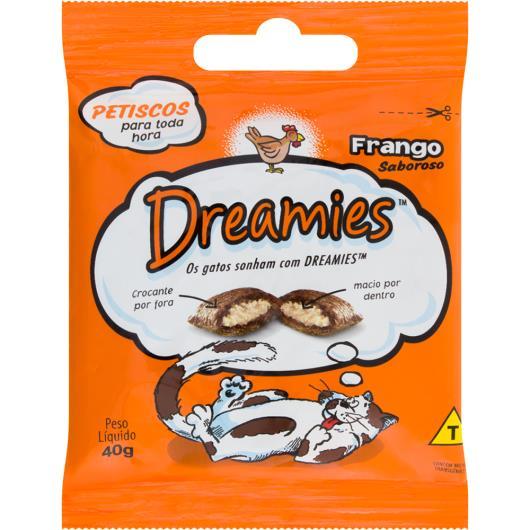 Petisco para gatos Dreamies sabor frango 40g - Imagem em destaque