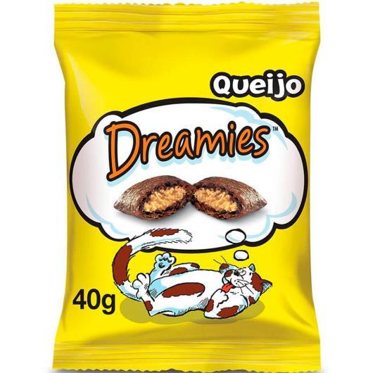 Petisco para gatos Dreamies queijo 40g - Imagem em destaque