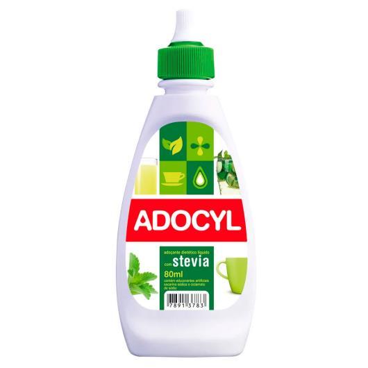 Adoçante Adocyl com stevia líquido 80ml - Imagem em destaque