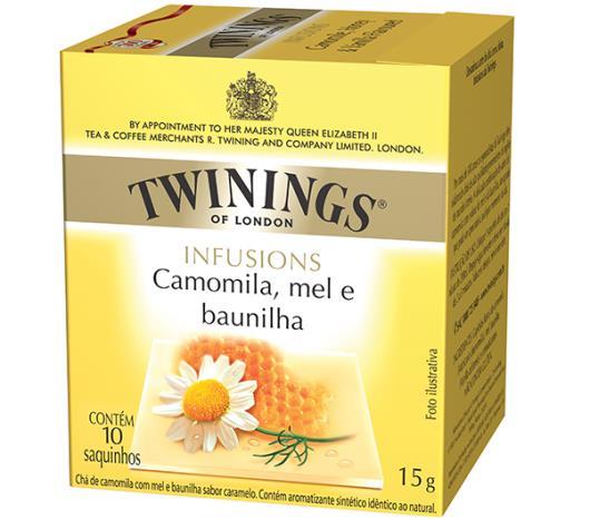 Chá Twinings de camomila, mel e baunilha  Infusions 15g - Imagem em destaque