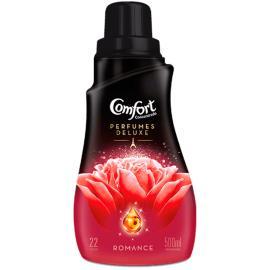 Amaciante Comfort concentrado óleos essenciais romance 500ml