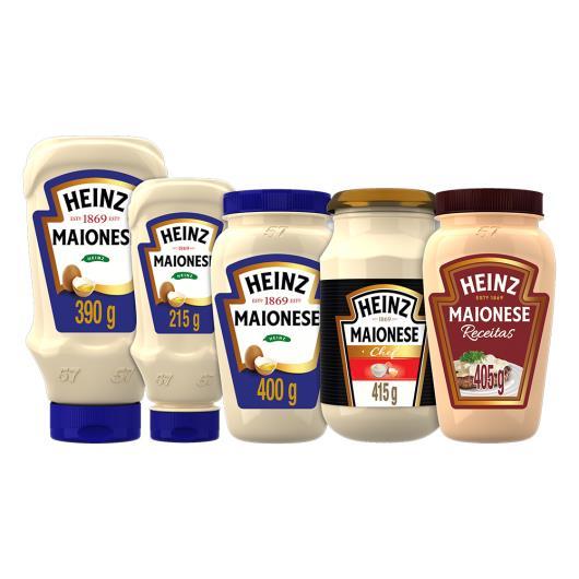 Maionese Heinz 215g - Imagem em destaque