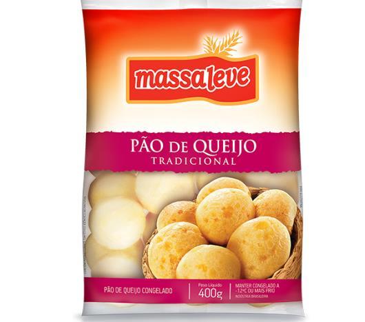 Pão de queijo tradicional Massa Leve 400g - Imagem em destaque