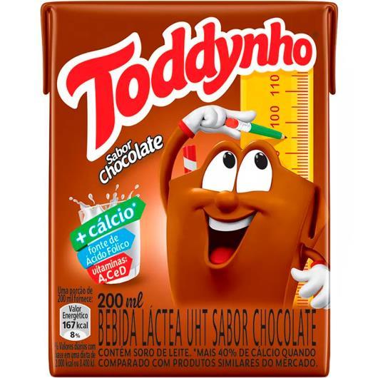 Bebida láctea Toddynho chocolate 200ml - Imagem em destaque