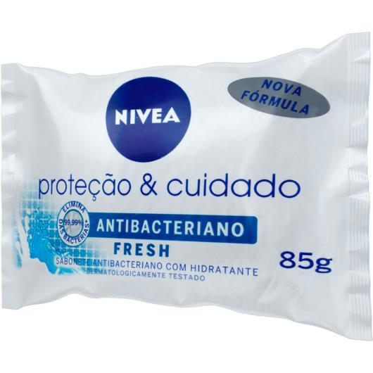Sabonete em Barra Antibacteriano NIVEA Proteção & Cuidado Fresh 85g - Imagem em destaque