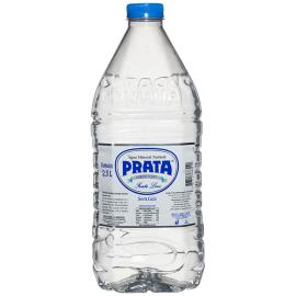 Água mineral Prata sem gás Leve 2,5L