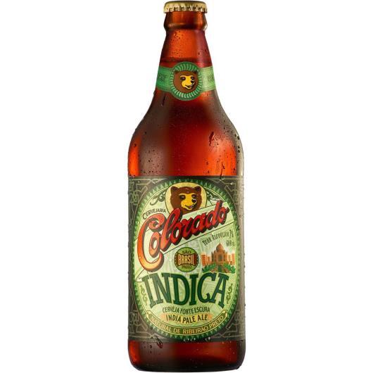 Cerveja Colorado Indica Escura Long Neck 600ml - Imagem em destaque