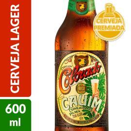 Cerveja Colorado Cauim Clara Long Neck 600ml
