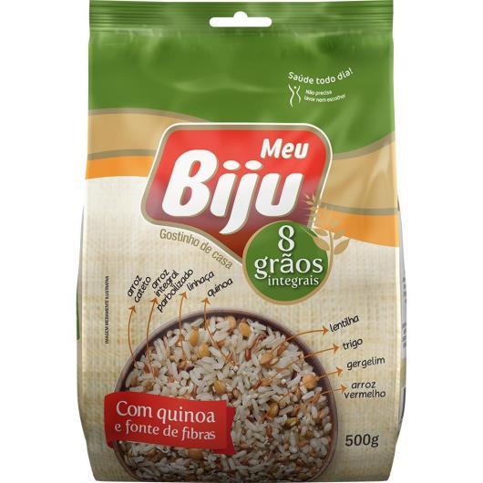 Arroz Meu Biju 8 Grãos Integrais com Quinoa 500g - Imagem em destaque