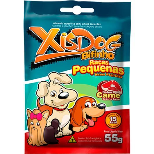 Alimentos para cães Xisdog bifinho raças pequenas sabor carne 55g - Imagem em destaque