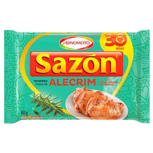 Tempero Sazón toque de alecrim para carnes suína, bovina ou frango 60g - Imagem em destaque