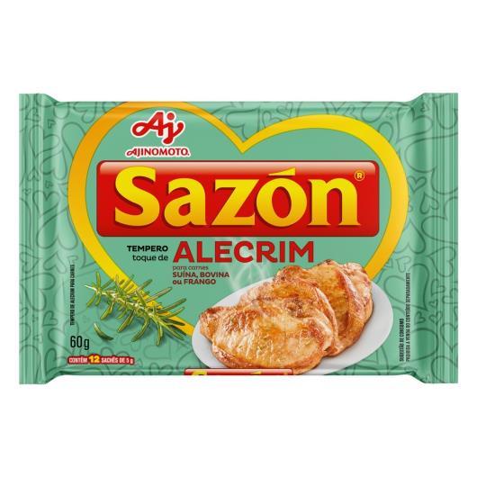 Tempero para Carnes Toque de Alecrim Sazón Pacote 60g 12 Unidades - Imagem em destaque