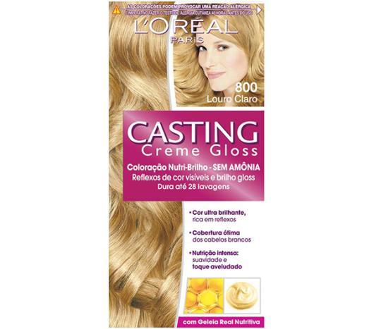 Coloração Casting Creme Gloss Louro Claro 800 - Imagem em destaque