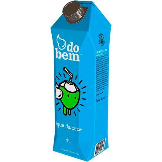 Água de Coco DO BEM 1 L Tetra Pak - Imagem em destaque