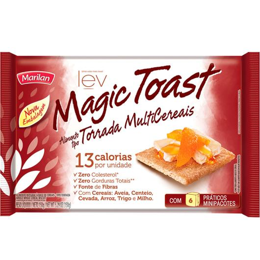 Magic toast Marilan multicereais 150g - Imagem em destaque