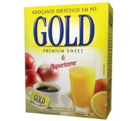 Adoçante Gold Premium Sweet em Pó Aspartame 40g