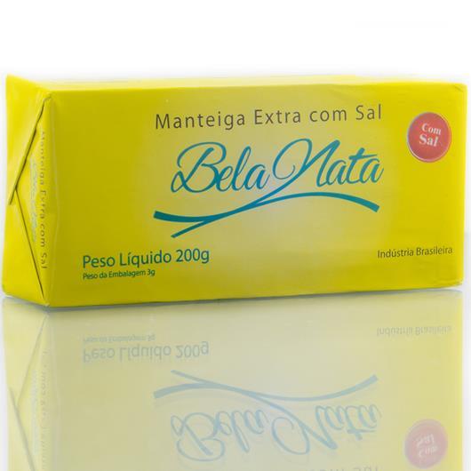 Manteiga Bela Nata Extra com Sal Tablete 200g - Imagem em destaque