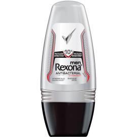 Desodorante Antitranspirante Rexona men Rollon ANTIBACTERIAL PROTECTION 50ml