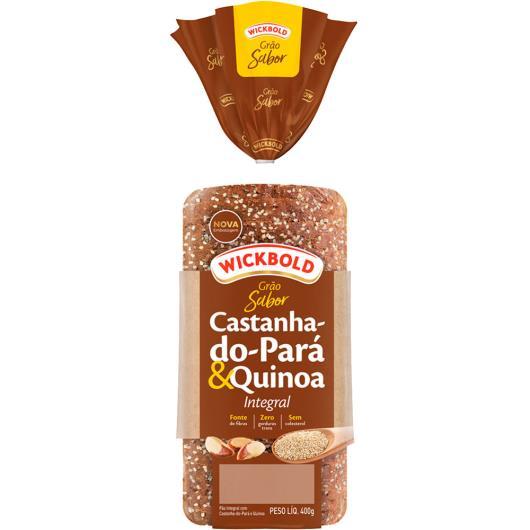 Pão Wickbold Grão Sabor Castanha-do-Pará e Quinoa 400g - Imagem em destaque