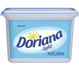Margarina Doriana Light sem Sal 500g