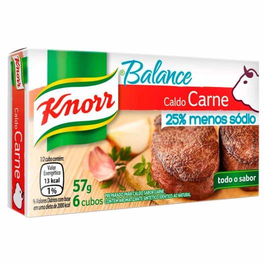 Caldo Knorr carne balance 6 cubos 57g - Imagem em destaque