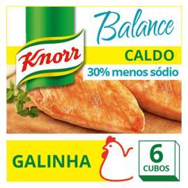 Caldo Knorr galinha balance 6 cubos 57g