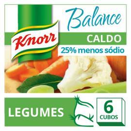 Caldo Knorr Legumes balance 6 cubos 57g