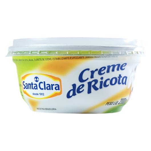 Creme De Ricota Santa Clara 200g - Imagem em destaque