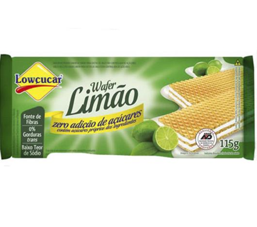 Wafer Lowçucar Zero Limão115g - Imagem em destaque